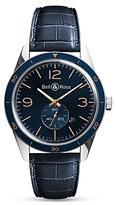 Bell & Ross Aeronvale Alligator Strap Watch, 43mm