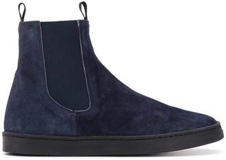Officine Creative Suede Sneaker Boots