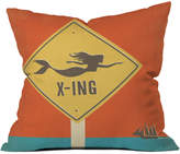 Deny Designs Anderson Design Group Mermaid X Ing Outdoor Throw Pillow
