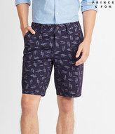 Swimming Sharks Flat-Front Shorts