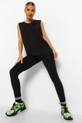 boohoo Woman Rubber Tab Active Leggings