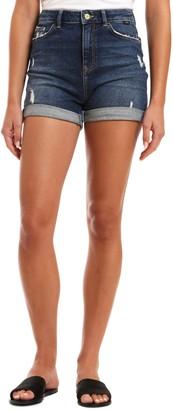 Mavi Jeans Ella Distressed Denim Shorts