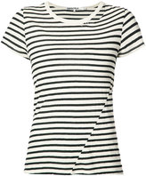 Pam & Gela striped T-shirt - women - Cotton/Polyester - M