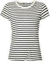 Pam & Gela striped T-shirt - women - Cotton/Polyester - S