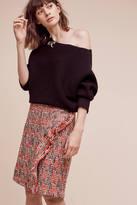 Eva Franco Tweed Fringe Skirt