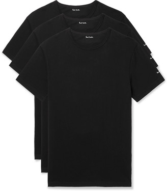 Paul Smith Three-Pack Slim-Fit Cotton-Jersey T-Shirts