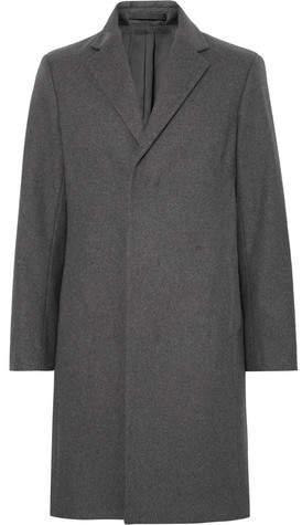 Theory Bower Virgin Wool-Blend Overcoat