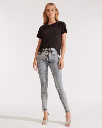 Veronica Beard Maera High-Rise Skinny Jean