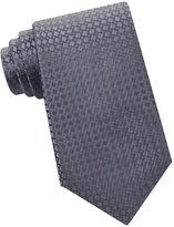 MICHAEL Michael Kors Geometric Split Square Silk Tie