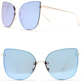 Quay 60mm Cat Eye Sunglasses