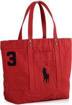 Polo Ralph Lauren Men's Big Pony Canvas Tote