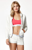 Calvin Klein Modern Cotton Zip-Up Hoodie