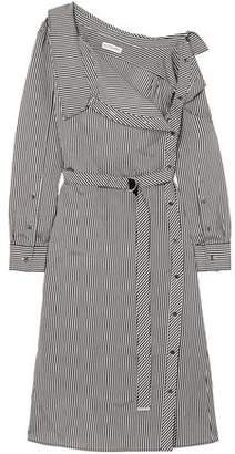 Altuzarra Albany Oversized Striped Twill Midi Dress
