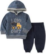 Kids Headquarters 2-Pc. I Dig Dirt Hoodie & Pants Set, Baby Boys (0-24 months)