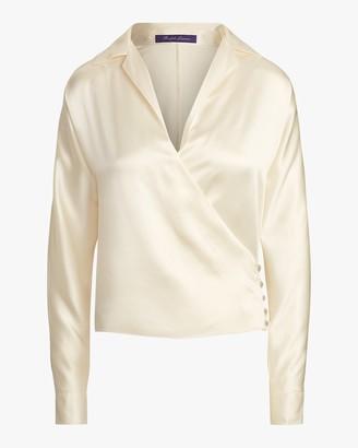 Ralph Lauren Collection Long-Sleeve Libby Blouse