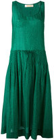 Diane von Furstenberg sleeveless drawstring dress - women - Silk/Cotton - S