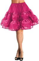 """Black Butterfly Clothing Black Butterfly 20"""" Long Vintage Satin Organza Petticoat (, US)"""