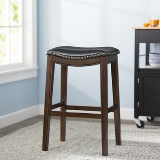 """Alcott Hill Alice Bar & Counter Stool Color: Cappuccino, Seat Height: Bar Stool (30"""" Seat Height)"""