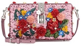 Dolce & Gabbana Dolce Box Embellished Leather Bag