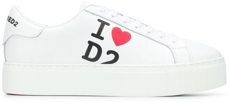 DSQUARED2 I love sneakers