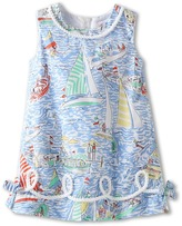 Lilly Pulitzer Little Lilly Classic Shift (Toddler/Little Kids/Big Kids) (Multi/Get Nautical) - Apparel