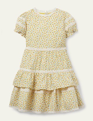Boden Lace Ditsy Floral Dress