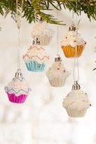 Urban Outfitters Cupcake Ornament Set