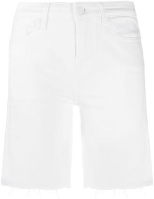 7 For All Mankind Easy raw hem shorts