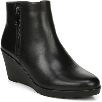 Naturalizer Water-Repellent Leather Booties - L andry