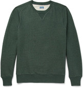 J.Crew Saddle Loopback Cotton-Jersey Sweatshirt