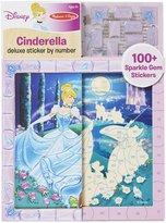 Melissa & Doug Cinderella Deluxe Sticker by Number Toy