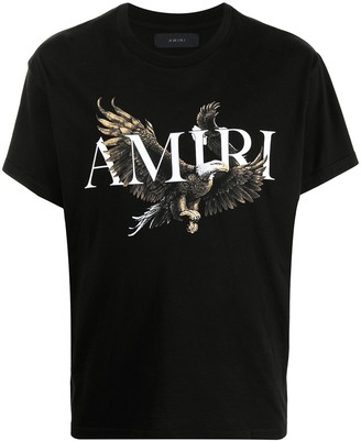 Amiri eagle-print cotton T-shirt