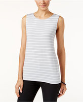 Alfani PRIMA Striped Tank Top, Only at Macy's