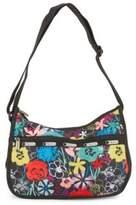 Le Sport Sac Printed Hobo Bag