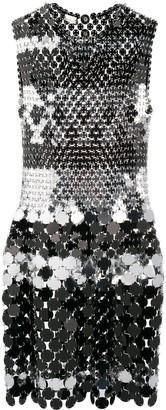 Paco Rabanne Mirror Disc Dress