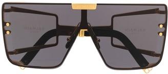 Balmain Eyewear x Akoni Wonder Boy oversized sunglasses