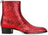 Saint Laurent 'Wyatt 40' ankle boots - men - Leather/Polyester - 41