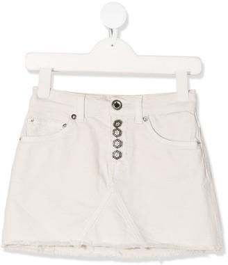 Dondup Kids Denim Mini Skirt