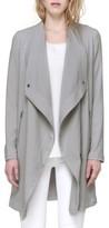 Soia & Kyo Women's Draped Asymmetrical Coat