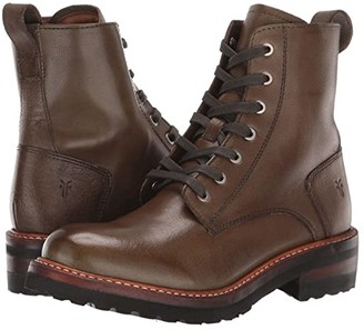 Frye Ella Moto Lace (Rosemary) Women's Boots