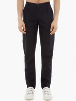 Raf Simons Navy High-waisted Trousers