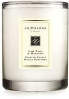 Jo Malone TM) Lime Basil & Mandarin Scented Travel Candle