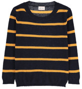 Morley Sale - Ferdi Striped Cotton and Cashmere Jumper