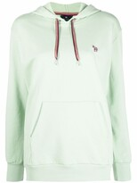 Thumbnail for your product : Paul Smith Embroidered-Logo Pullover Hoodie
