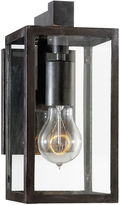 Visual Comfort & Co. Fresno Short Outdoor Sconce, Aged Iron