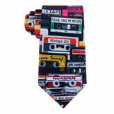 Asstd National Brand American Traditions Retro Mix Tape Tie