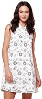 Yumi Printed Full Sleeveless Dress