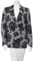 MSGM Floral Print Wool Blazer w/ Tags