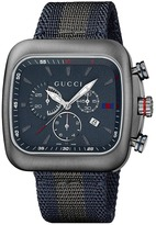 Gucci Coupe 44mm Chronograph Nylon Strap Watch-YA131203 Watches