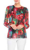 Jason Wu Watercolor Print Top